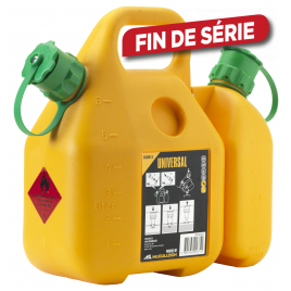 Jerrycan double 6 + 2,5 L MCCULLOCH