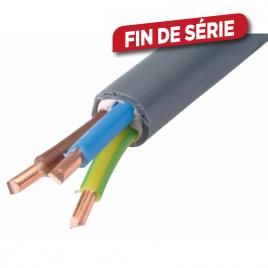 Câble électrique XVB 3G 2.5 mm² 50 m REXEL