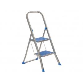 Escabelle Color Step bleue 2 marches ESCALO