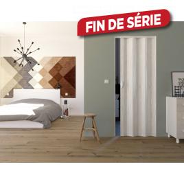 Porte accordéon Luciana pin blanc