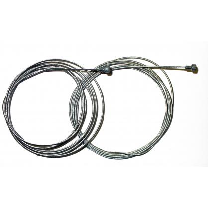 Set de 2 cables de frein pour vélo 80 et 185 cm
