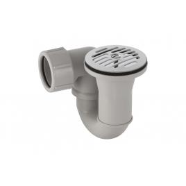 Siphon pour douche Ø 62 mm chromé GEBERIT