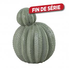 Cactus vert en ciment 24 x 23,5 x 30 cm