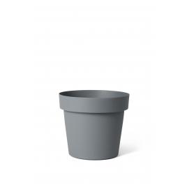 Cache-pot Ardoise Happy Ø 14 x 13 cm
