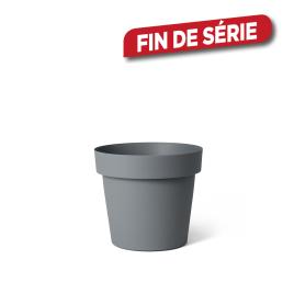 Cache-pot Ardoise Happy Ø 18 x 17 cm