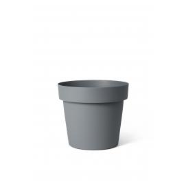 Cache-pot Ardoise Happy Ø 25 x 22 cm