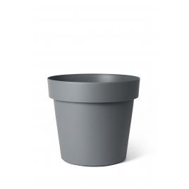 Cache-pot avec roulettes Ardoise Happy Ø 50 x 41 cm