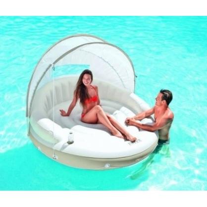 matelas pour piscine lounge cara bes intex. Black Bedroom Furniture Sets. Home Design Ideas