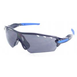 Paire de lunettes de soleil noires et bleues catégorie 3