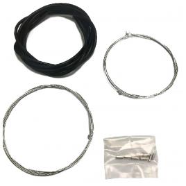 Kit de câbles inoxydables pour freins de vélo