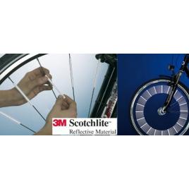 Set de 36 réflecteurs pour rayons de vélo
