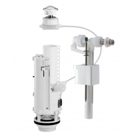 Mécanisme et flotteur de WC Siamp avec bouton poussoir à câble 3/6 L SANINSTAL
