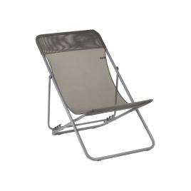 Chaise longue Maxi Transat Graphite