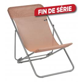 Chaise longue Maxi Transat Terracotta