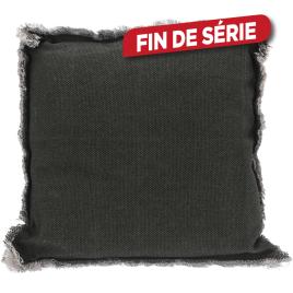 Coussin de chaise gris foncé 40 x 40 x 8 cm