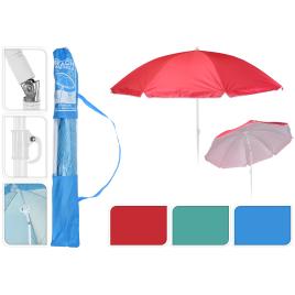 Parasol de plage inclinable Ø 155 cm
