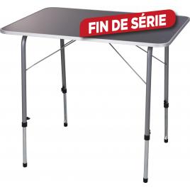 Table de camping pliante 80 x 60 cm