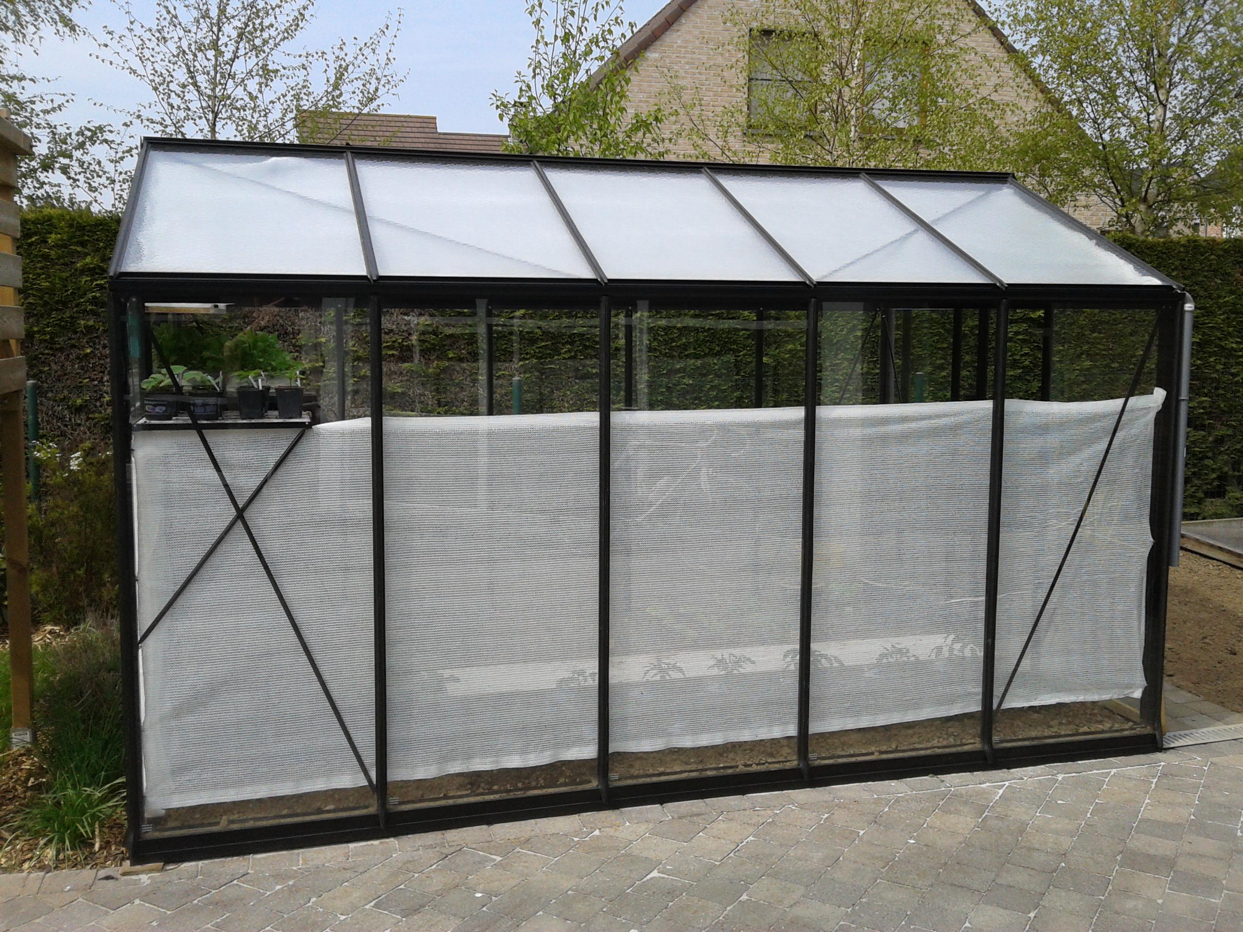 Toile Ombrage Au Metre toile d'ombrage pour serre 1,2 x 5 m acd - mr.bricolage