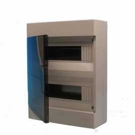 Coffret de distribution vide 24 modules VYNCKIER