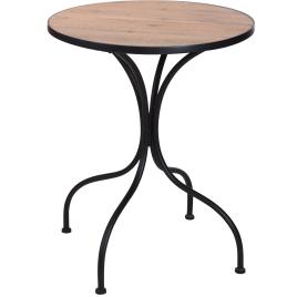 Table bistro en métal Ø 60 x 70 cm