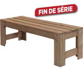 Table basse en bois 140 x 45 x 45 cm