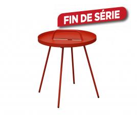 Table d'appoint Flower rouge Ø 44 x 51 cm