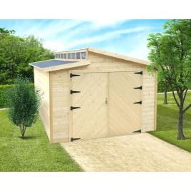 Garage Torino 28 mm 5,7 x 3,6 m avec double porte SOLID