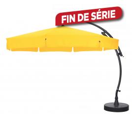 Parasol déporté et inclinable Easy Sun tournesol Ø 350 cm SUNGARDEN