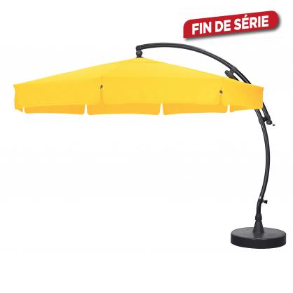 Parasol déporté et inclinable Easy Sun terracotta Ø 350 cm SUNGARDEN