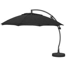 Parasol déporté et inclinable Easy Sun carbone Ø 375 cm SUNGARDEN