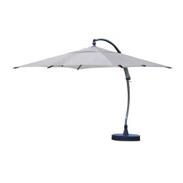 Parasol déporté et inclinable Easy Sun titanium 320 x 320 cm SUNGARDEN