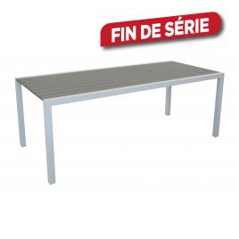 Table de jardin Dina taupe 200 x 90 x 74 cm