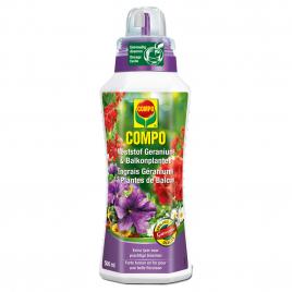 Engrais liquide pour géraniums et plantes de balcon 0,5 L COMPO