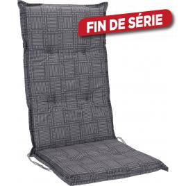 Coussin multi-couleurs à rayures pour fauteuil 120 x 50 cm