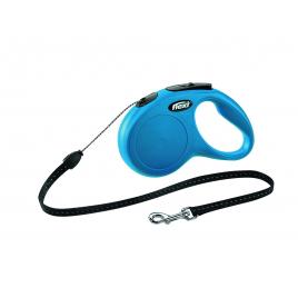 Laisse Flexi New Classic S bleue