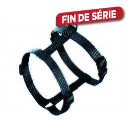 Harnais en nylon Classic Noir pour chien 50 à 70 cm