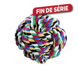 Balle multicolore pour chien Ø 10 cm