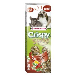 Stick aux fines herbes pour lapin et chinchilla 2 pièces