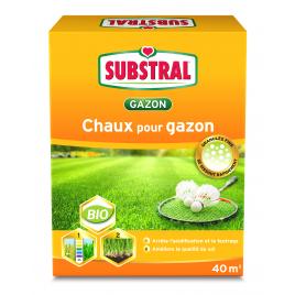 Chaux pour gazon 4 kg SUBSTRAL