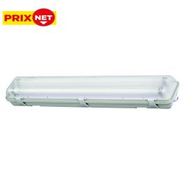 Armature LED T8 IP65 2 x 18 W blanc froid PROFILE