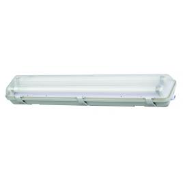 Armature LED T8 IP65 2 x 9 W blanc froid PROFILE