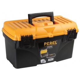 Boîte à outils à fermetures plastiques 43,2 x 25 x 23,8 cm PEREL