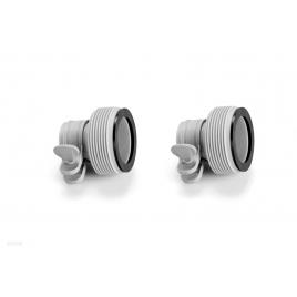 Adaptateur mâle 38 à 32 mm 2 pièces INTEX