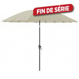 Parasol droit inclinable Pagode écru Ø 300 cm