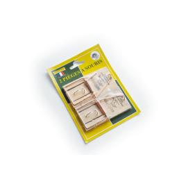 Piège à souris en bois 2 pièces