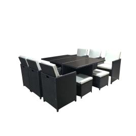 Ensemble de jardin Ottoman : 1 table et 6 fauteuils