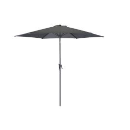 Parasol droit inclinable lemon avec manivelle Ø 300 cm