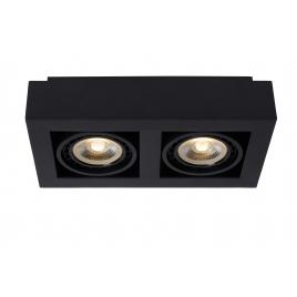Spot noir Zefix LED GU10 24 W dimmable LUCIDE