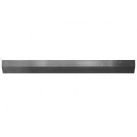 Profilé en aluminium biseauté 300 x 10 x 1,8 cm TOOLLAND