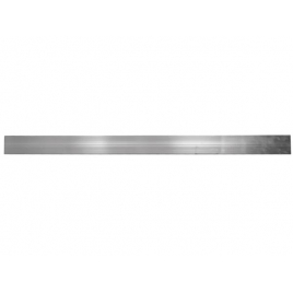 Profilé en aluminium 300 x 6,5 x 3 cm TOOLLAND